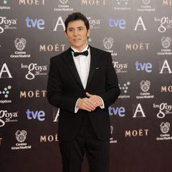 Manel Fuentes en la alfombra roja de los Goya 2014