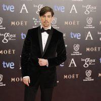 Adrián Lastra en los Premios Goya 2014