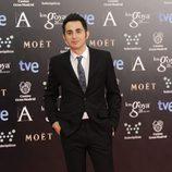 Berto Romero en la alfombra roja de los Goya 2014