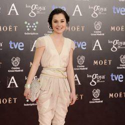 Nadia de Santiago en la alfombra roja de los Goya 2014