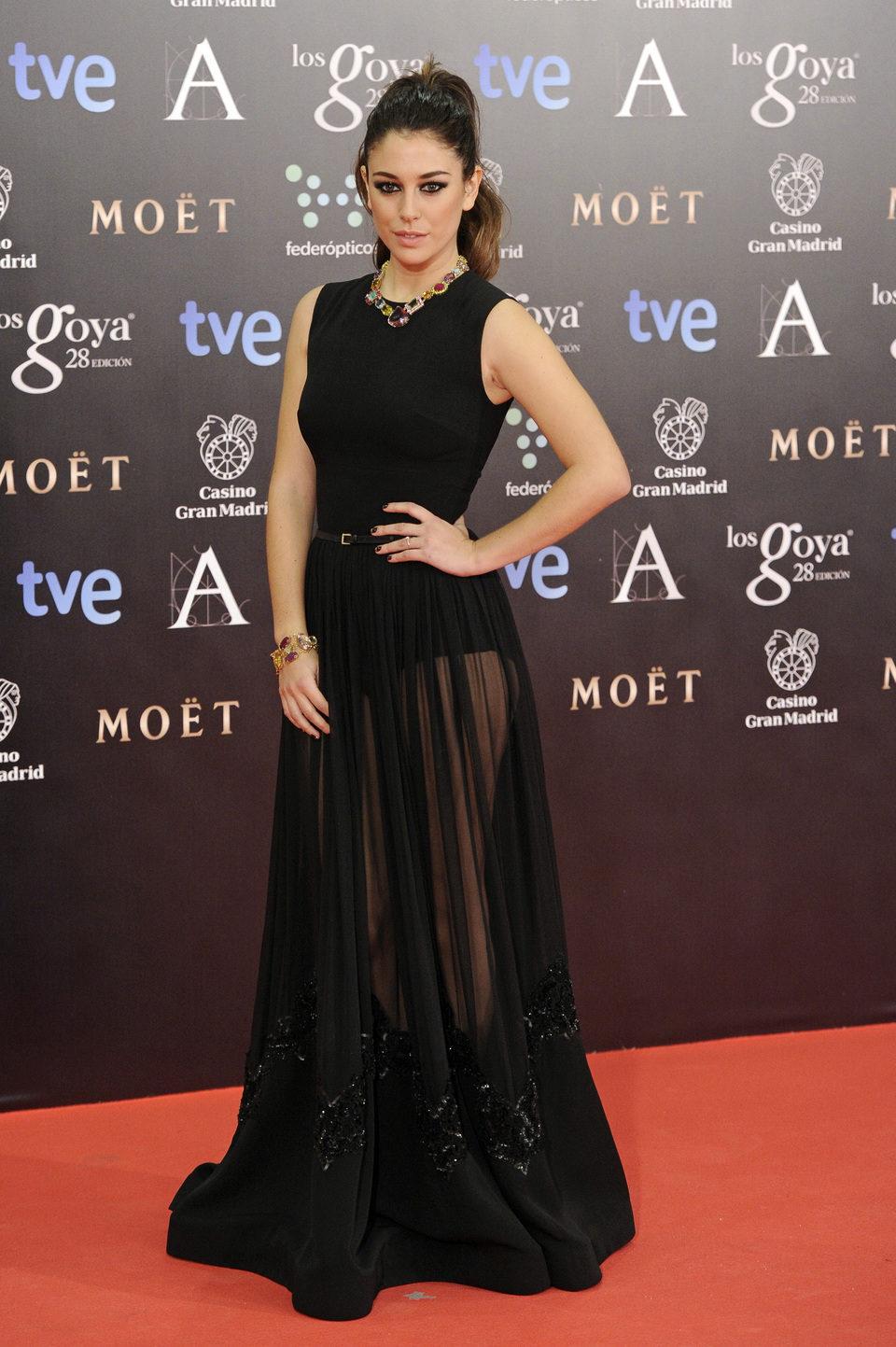 Blanca Suárez en los Goya 2014