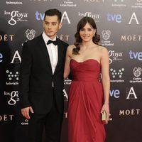 Andrea Duro y Joel Bosqued en los Goya 2014