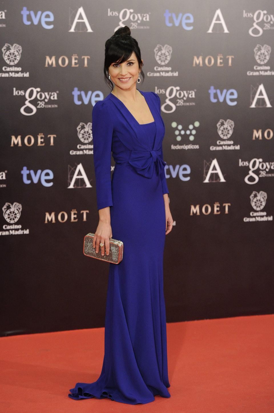 Marian Álvarez en los Goya 2014