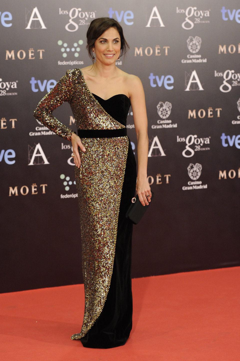 Toni Acosta en los Goya 2014