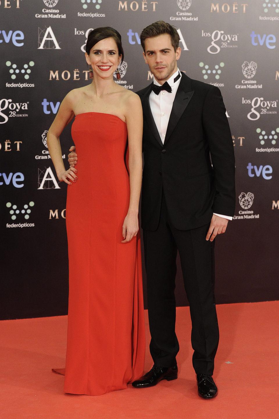 Aina Clotet y Marc Clotet en los Goya 2014