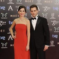 Aina Clotet y Marc Clotet en los Goya 2014