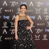 Belén López en la alfombra roja de los Goya 2014