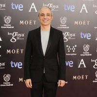 Pablo Berger en la alfombra roja de los Goya 2014