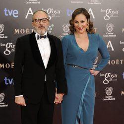 Fernando Guillén Cuervo y Ana Milán en los Goya 2014