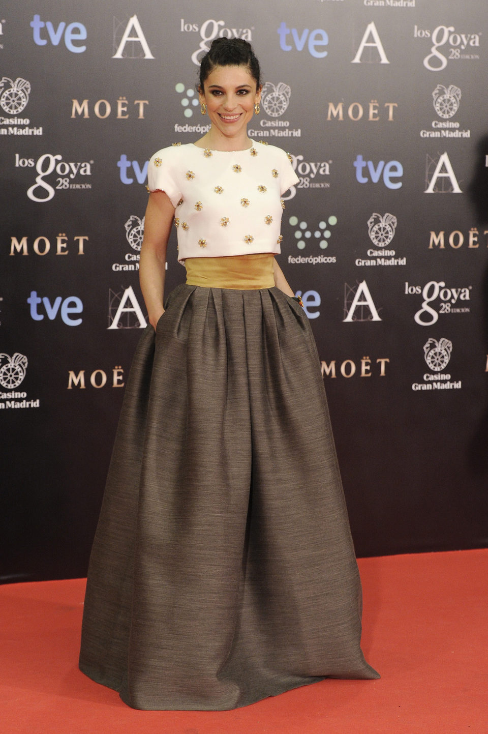 Irene Visedo en los Goya 2014