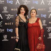 Neus Asensi en los Goya 2014