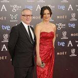 Aitana Sánchez Gijón en los Premios Goya 2014