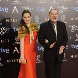 Enrique Villén en los Goya 2014
