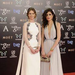 Sandra Martín y Arantxa Martín en los Premios Goya 2014