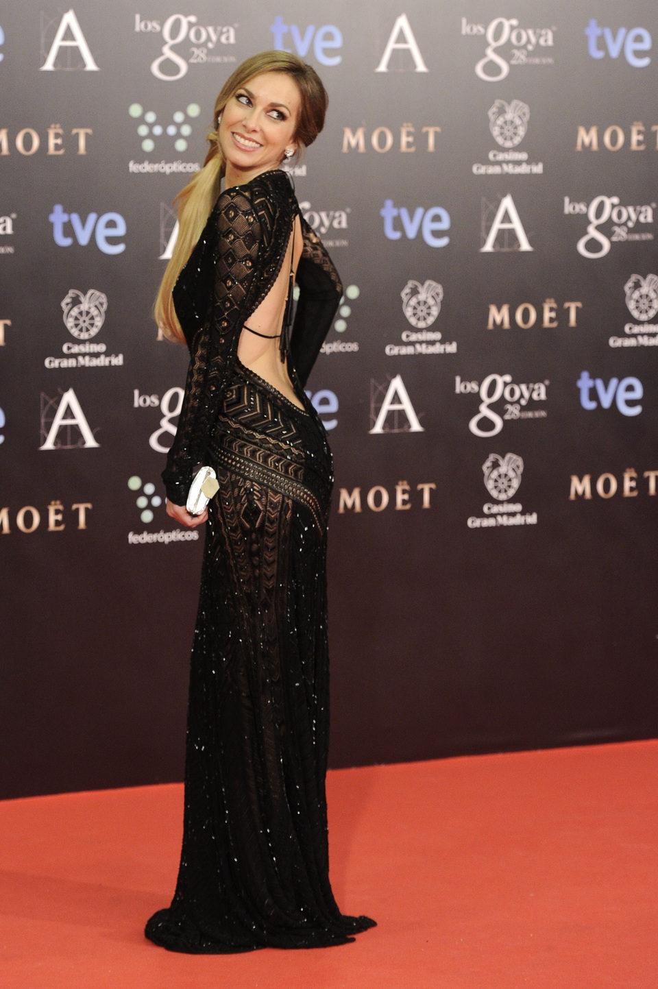 Kira Miró en los Premios Goya 2014