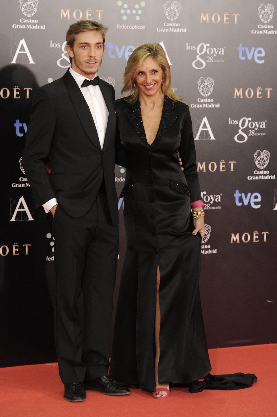 Marta Robles y Ramón Langa en los Goya 2014