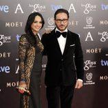 Carlos Santos en los Premios Goya 2014