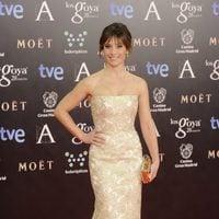 Marta Etura en la alfombra roja de los Goya 2014