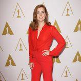 Amy Adams en el almuerzo de los nominados a los Premios Oscar 2014