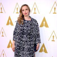 Julie Delpy en el almuerzo de los nominados a los Premios Oscar 2014