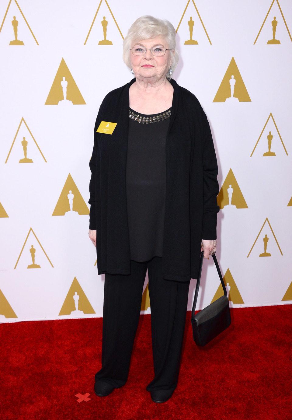 June Squibb en el almuerzo de los nominados a los Premios Oscar 2014