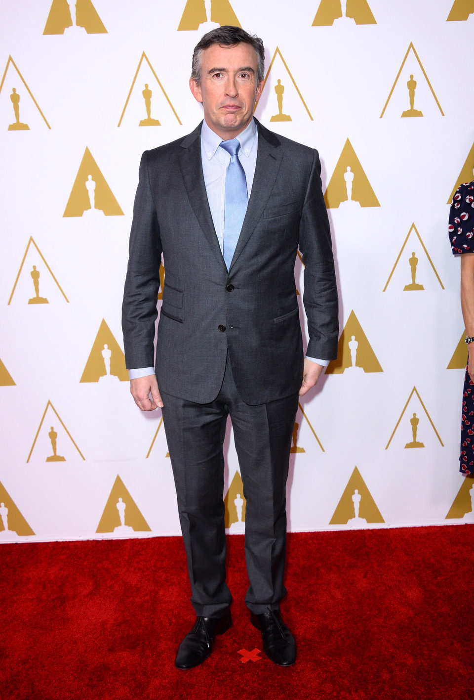 Steve Coogan en el almuerzo de los nominados a los Premios Oscar 2014