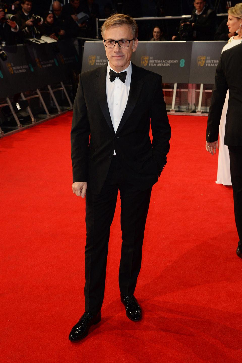 Christoph Waltz en los Premios BAFTA 2014