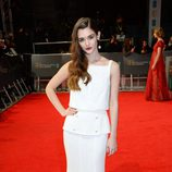 Sai Bennett en la alfombra roja de los BAFTA 2014