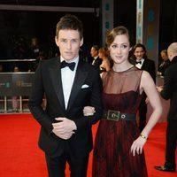 Eddie Redmayne en los Premios BAFTA 2014