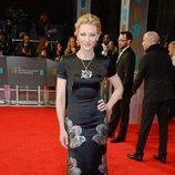 Cate Blanchett en la alfombra roja de los BAFTA 2014