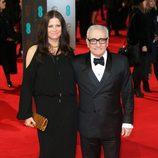 Martin Scorsese en la alfombra roja de los BAFTA 2014