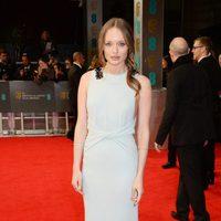 Laura Haddock en los Premios BAFTA 2014