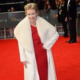 Emma Thompson en la alfombra roja de los BAFTA 2014