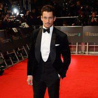 David Gandy en los Premios BAFTA 2014