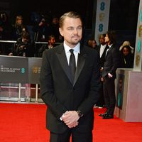 Leonardo DiCaprio en los Premios BAFTA 2014