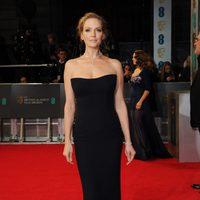 Uma Thurman en la alfombra roja de los BAFTA 2014