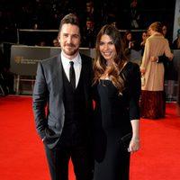 Christian Bale en los BAFTA 2014