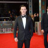 Luke Evans en los premios BAFTA 2014