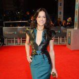 Michelle Rodriguez en la alfombra roja de los BAFTA 2014