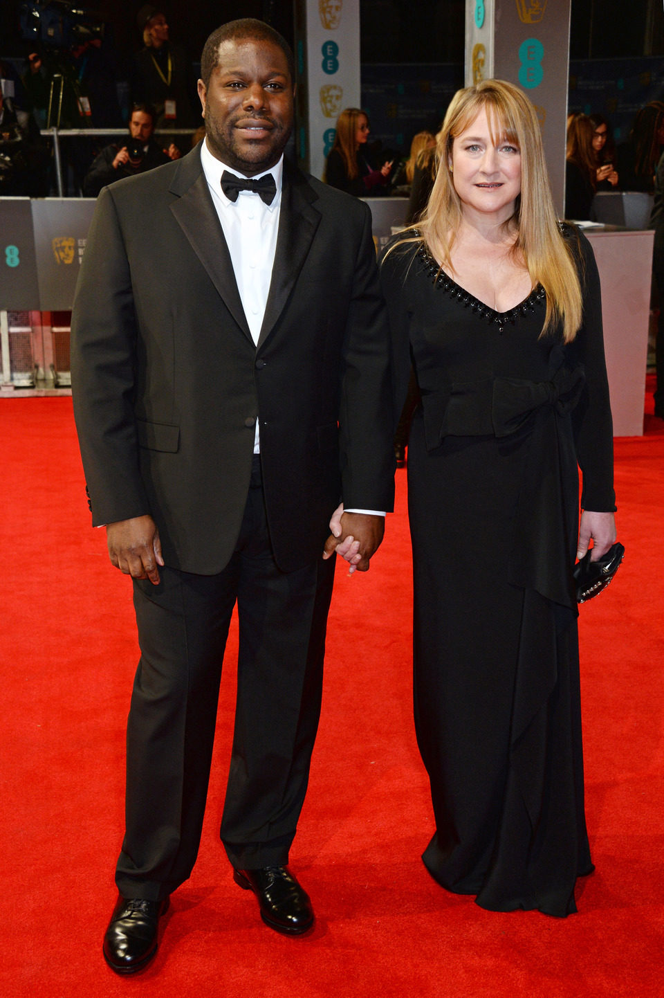 Steve R. McQueen en los Premios BAFTA 2014
