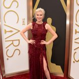 Ireland Baldwin en la alfombra roja de los Oscar 2014
