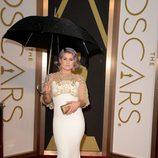 Kelly Osbourne en la alfombra roja de los Oscar 2014