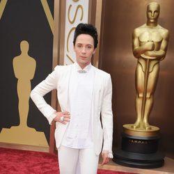 Johnny Weir en los Premios Oscar 2014