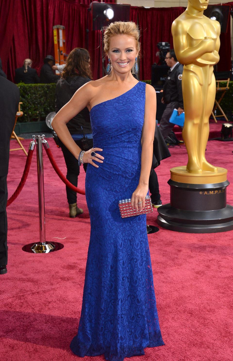 Brooke Anderson en la alfombra roja de los Oscar 2014