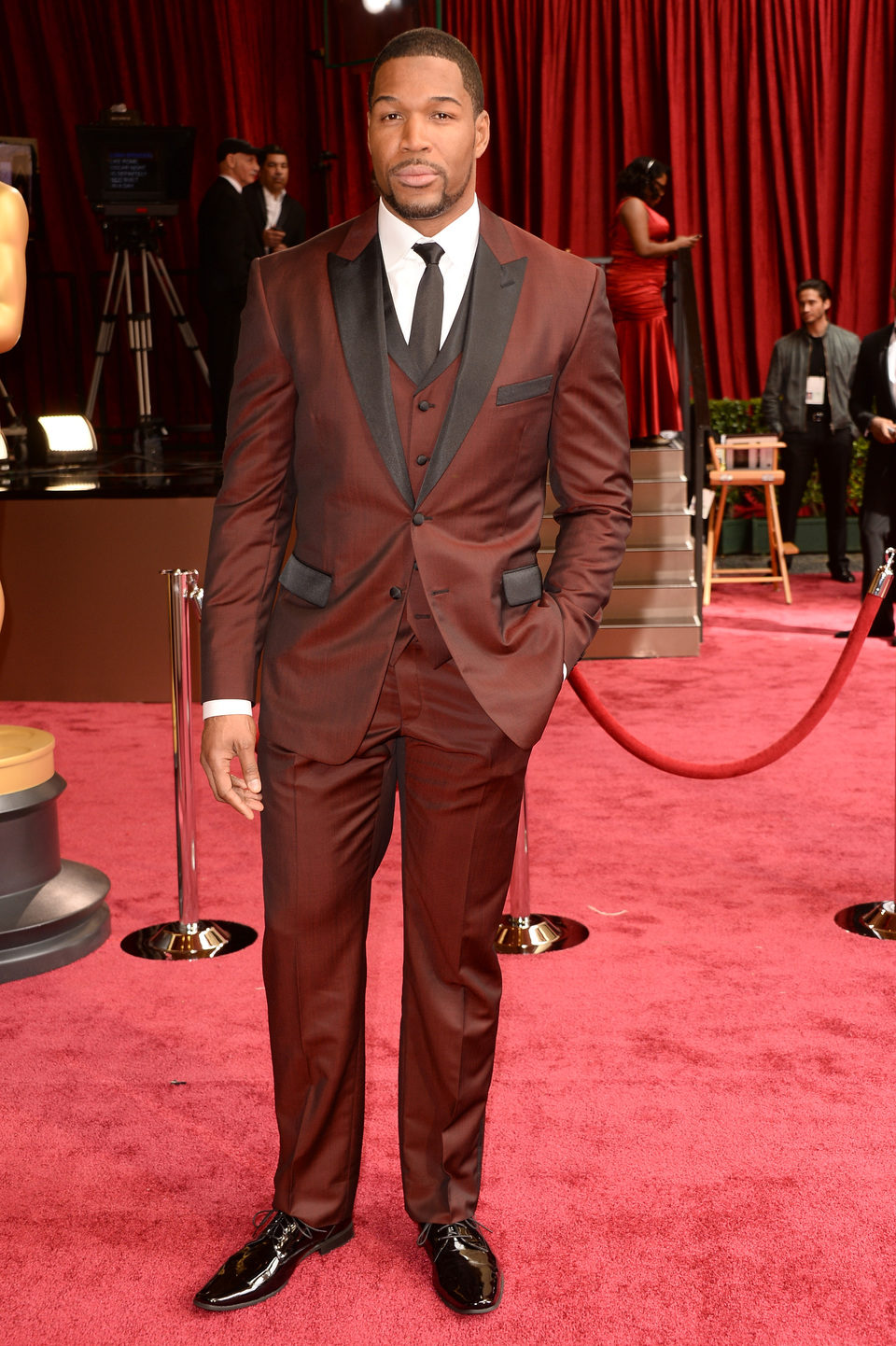 Michael Strahan en los Premios Oscar 2014