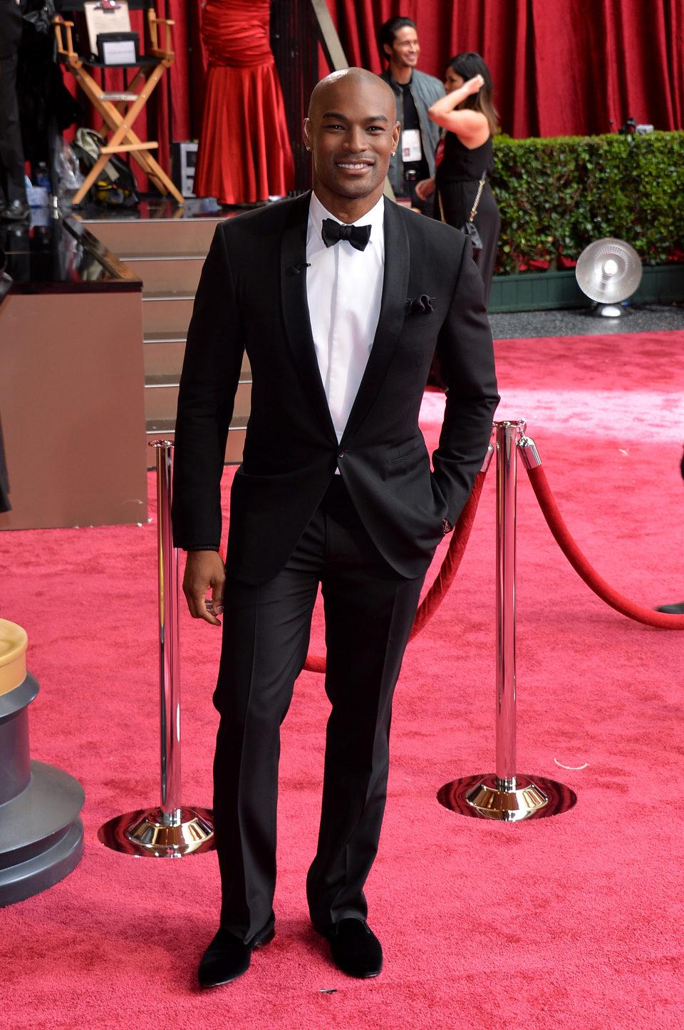 Tyson Beckford en los premios Oscar 2014
