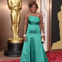 Viola Davis en los premios Oscar 2014