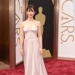 Cristin Milioti en los Premios Oscar 2014