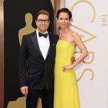 Eric Warren Singer en la alfombra roja de los Oscar 2014