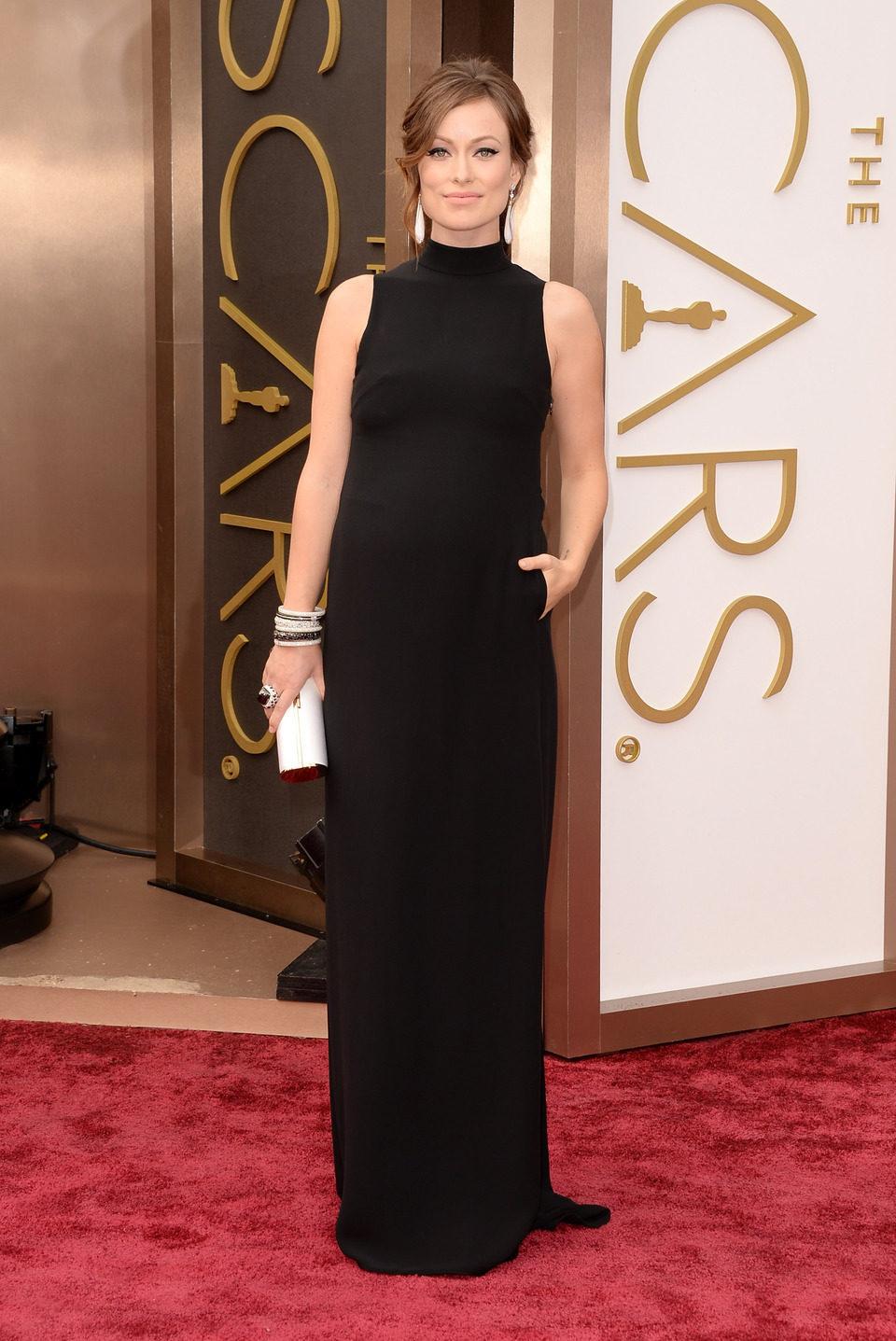 Olivia Wilde en los Premios Oscar 2014